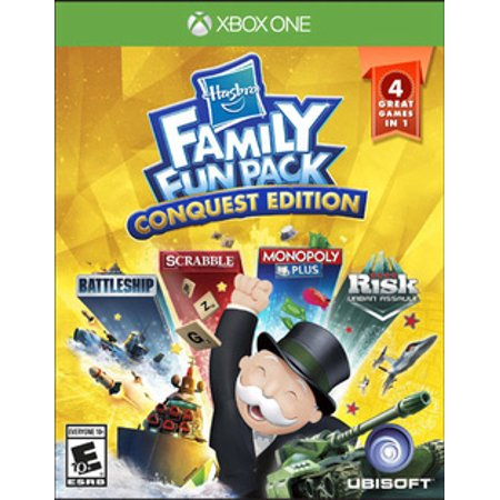 Hasbro Family Fun Pack: Conquest edition, Ubisoft, Xbox One, (Edition Pack)