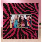 Unison Gifts HMC-833 Glitter Pink Zebra Frame