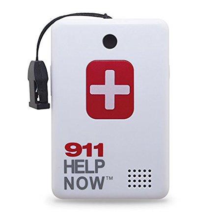 Hands Free Emergency Speakerphone - 911 Help Now Emergency Communicator Speakerphone Pendant with No Monthly Fees