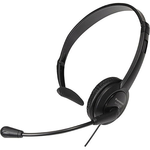 Panasonic Lightweight Microphone Headset for Telephones, KX-TCA400