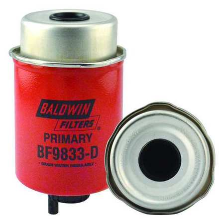 BALDWIN FILTERS BF9916 Fuel Filter,In-Line,2-45//64 in.L