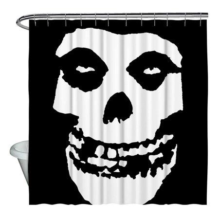 Misfits Fiend Skull Shower Curtain