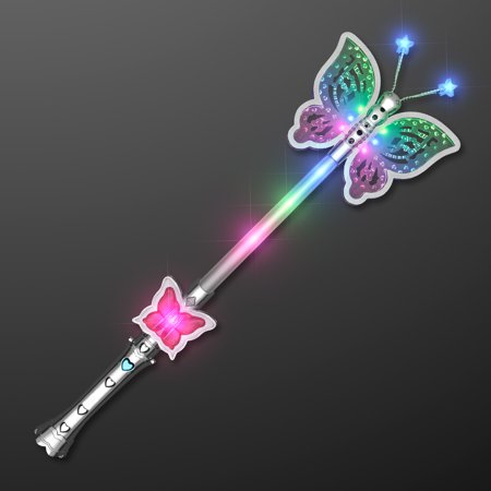 FlashingBlinkyLights Light Up Pretty Butterfly Wand](Light Up Butterfly)