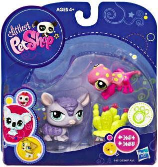 Littlest Pet Shop Lps Gecko And Armadillo