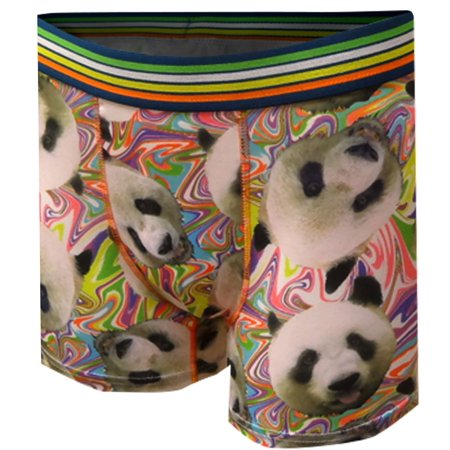 Psychedelic Panda Bears Boxer (Bear Bum Boxer)