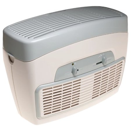 Holmes HEPA Type Desktop Air Purifier 3 Speeds plus Optional Ionizer