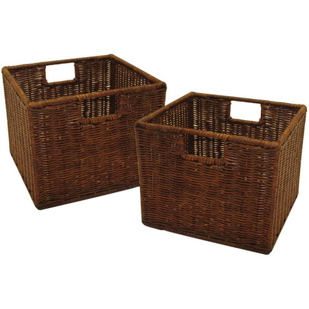 Leo Set of 2 Wired Baskets, Small ()