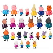 PEPPA PIG MINI FIGURE PACK PLAYSET CUTE TOY COLLECTION - 4PC 10PC 21PC 25PC SET