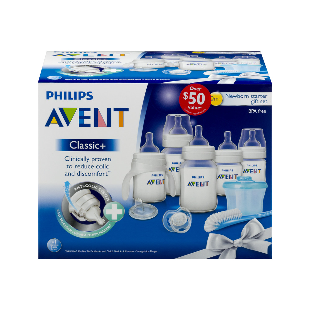 Philips Avent Classic Newborn Starter Set 0m+, 1.0 CT