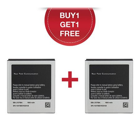 Replacement for Samsung Galaxy S2 Plus / i727 / T989 Mobile Phone Battery (Buy 1 Get 1 FREE)