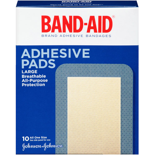 Band-Aid Brand Tough-Strips Adhesive Bandages, Extra Large, 10 Count