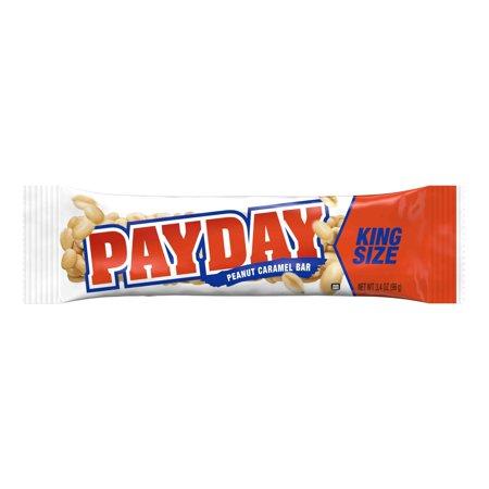 Payday Peanut Caramel King Size Candy Bar  3 4 Ounce Bars