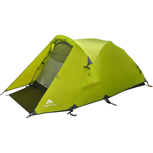 Ozark Trail Mountain Pass Aluminum Geo Frame Tent Sleeps 2  sc 1 st  Walmart : 2 person tent - memphite.com