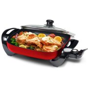Gourmet Large 12-inch Nonstick Electric Skillet