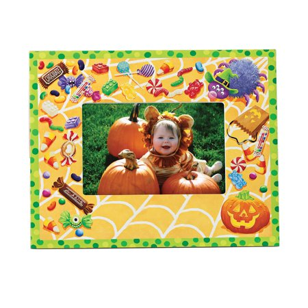 Halloween Goodies Decorative Photo Frame - Halloween Cluster Frames