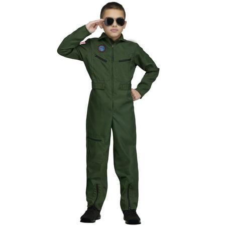 Topgun Aviator Child Costume - Kids Aviators