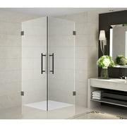 32'' x 72'' Hinged Frameless Shower Door