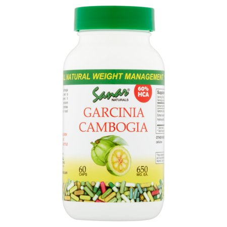 Sanar Naturals Garcinia Cambogia Dietary Supplement Capsules  650Mg  60 Count