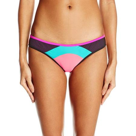 Body Glove Junior's Borderline Surf Rider Bikini Bottom, Vivo, X-Small, 80% Nylon, 20% Spandex By