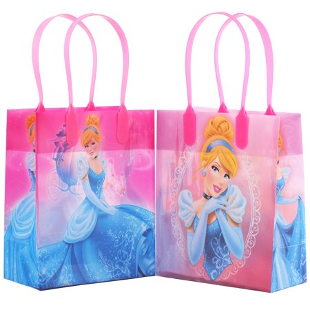 Disney Princess Cinderella Party Favor Goodie Small Gift Bags 12 (Princess Goodie Bags)