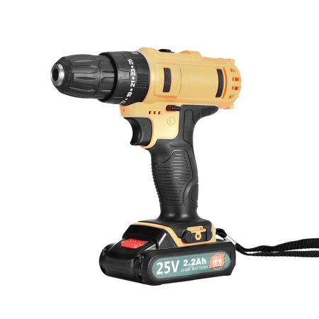 Deal Of Th Day (Iuhan 25-Volt drill 2 Speed Electric Cordless Drill/Driver with Bits Set &)