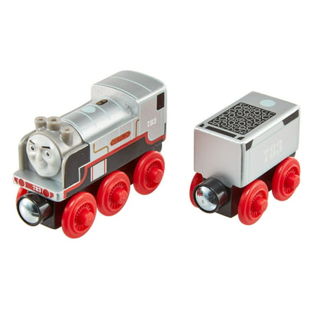 Thomas & Friends Wood Merlin the Invisible Wooden Steam Engine Train (Hornby Steam Train)