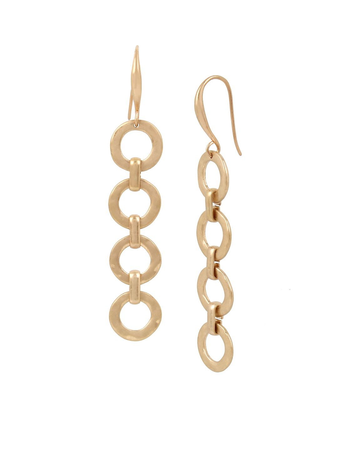Moonrise Link Linear Earrings