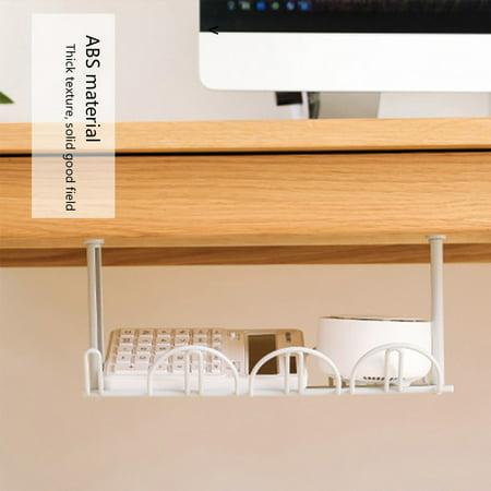 ALLOMN Home Living Room Storage Under Desk Cable ...