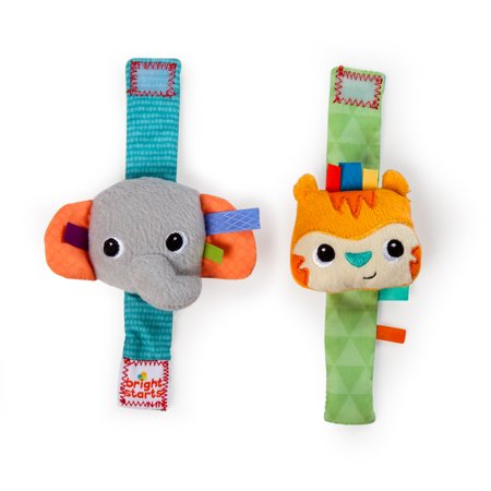 Bright Starts Rattle Me Wrist Pals Rattle Toy