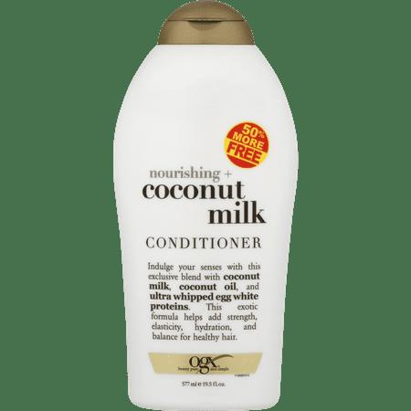 OGX Nourishing + Coconut Milk Conditioner, 19.5 fl oz