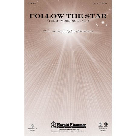 Shawnee Press Follow the Star (from Morning Star) ORCHESTRA ACCOMPANIMENT Composed by Joseph M. (Orchestra Star)