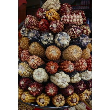 Canvas Print Starch Food Ingredients Grocery Store Market Corn Stretched Canvas 10 x 14 Ingredients Store Collection