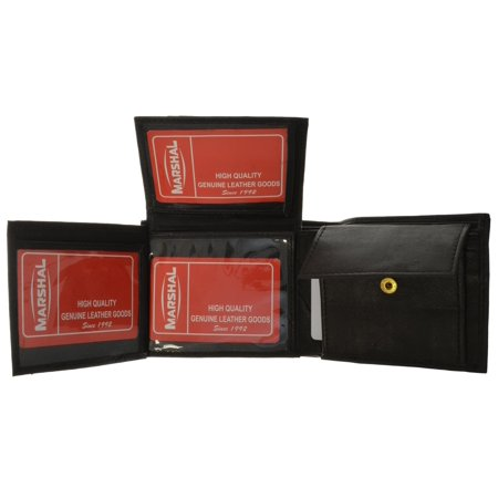 Soft Leather Lambskin Wallet with ID Credit Card and Coin Pocket 1853 (C) (Lambskin Pocket)