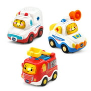 VTech Go! Go! Smart Wheels Rescue Vehicle Pack Toy Emergency Vehicles