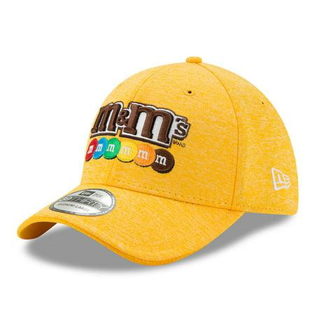 Kyle Busch New Era M&M's Driver 39THIRTY Flex Hat - Yellow