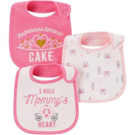 af0c5377e Child of Mine by Carter's Newborn Baby Girl 3 Pack Bibs – BrickSeek