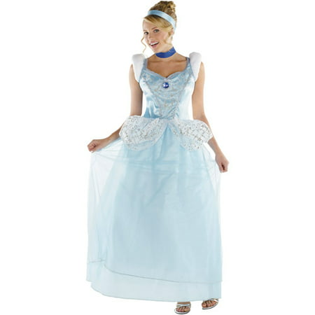 Cinderella Deluxe Adult Halloween Costume - Cinderella Outfit For Adults
