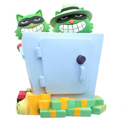 Happy Tree Friends 9 Inch Lifty & Shifty PVC Coin Bank ()