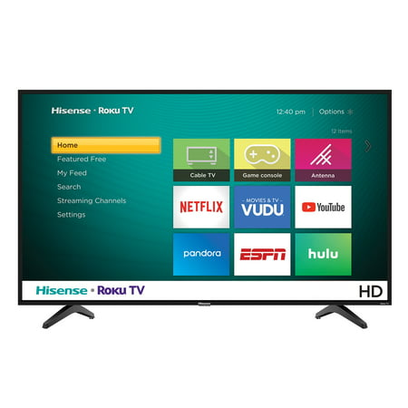 "Hisense 32"" Class 720P HD LED Roku Smart TV 32H4030F1"
