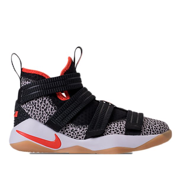 Nike Kids Lebron Soldier Xi SFG (GS) Basketball Shoe (6.5 M US)