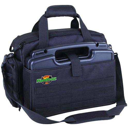 "Flambeau Outdoors Medium Range Bag with 14"" Pistol Case"