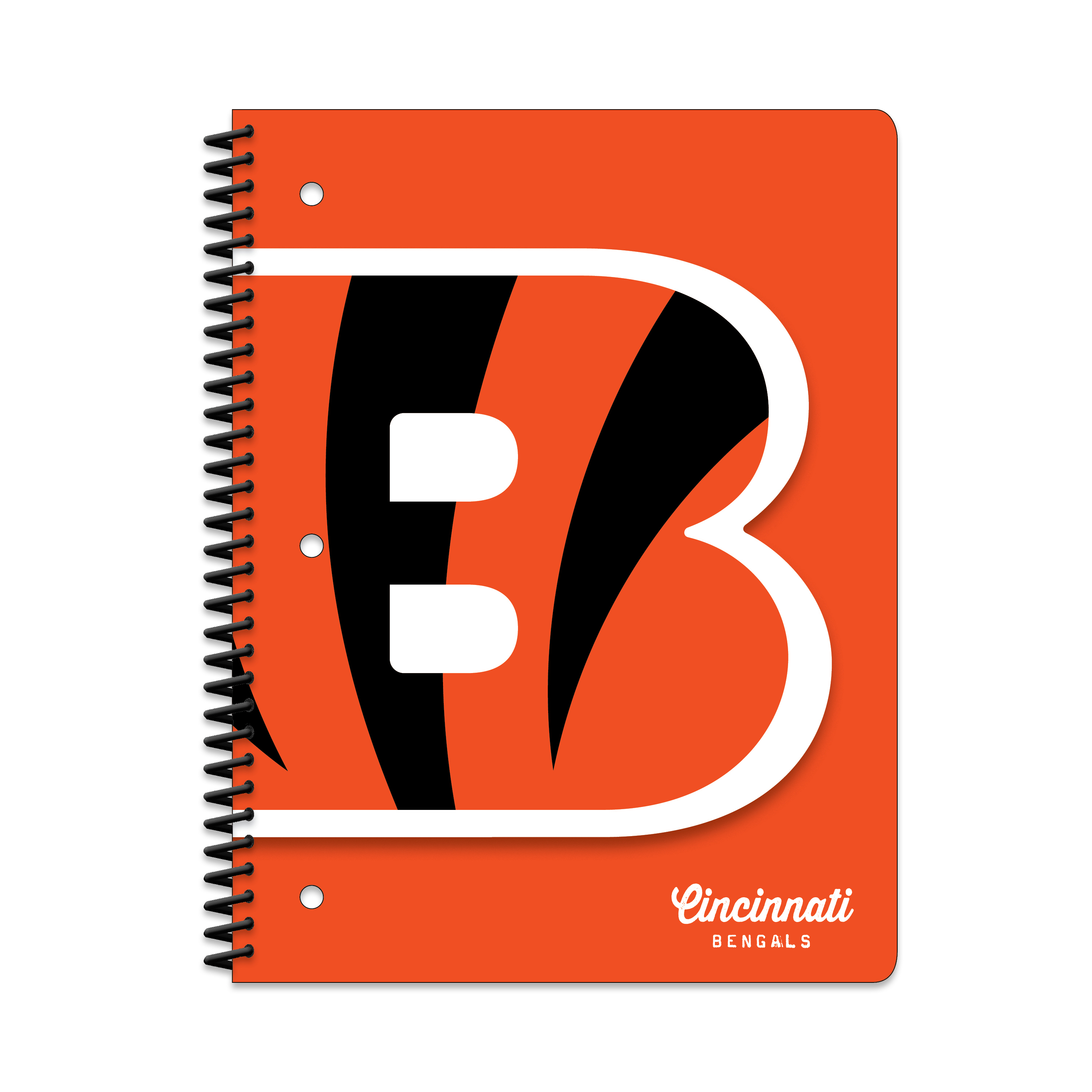 CINCINNATI BENGALS CLASSIC 1-SUBJECT NOTEBOOK