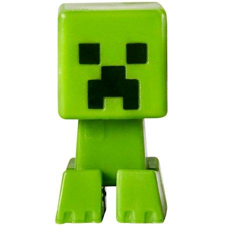 Minecraft Grass Series 1 Creeper 1 Mini Figure [Loose] - Minecraft Cardboard Creeper Head