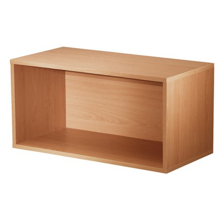 Hazelwood Home Carrabba Storage Standard Bookcase