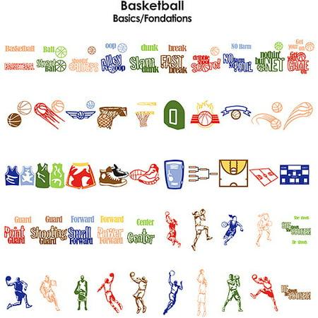 Celebrations Cricut Solutions Cartridge Basketball