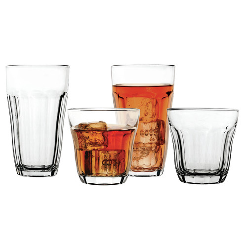 Circle Glass Rockford 16 Piece Entertaining Glassware Set by CIRCLE IMPORTS INC