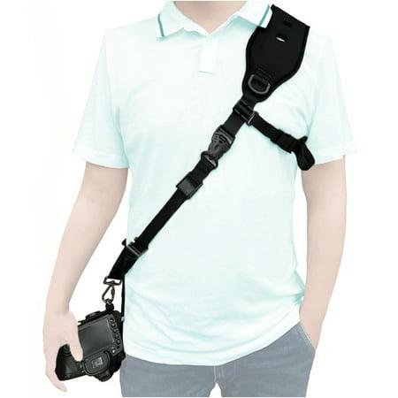 4368228d402 ALLCACA Adjustable Camera Shoulder Strap Security Camera Belt Digital Camera  Sling Shoulder Neck Strap with Safety
