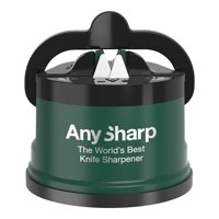 Anysharp Pro Knife One Handed Use Sharpener With Power Grip Surface