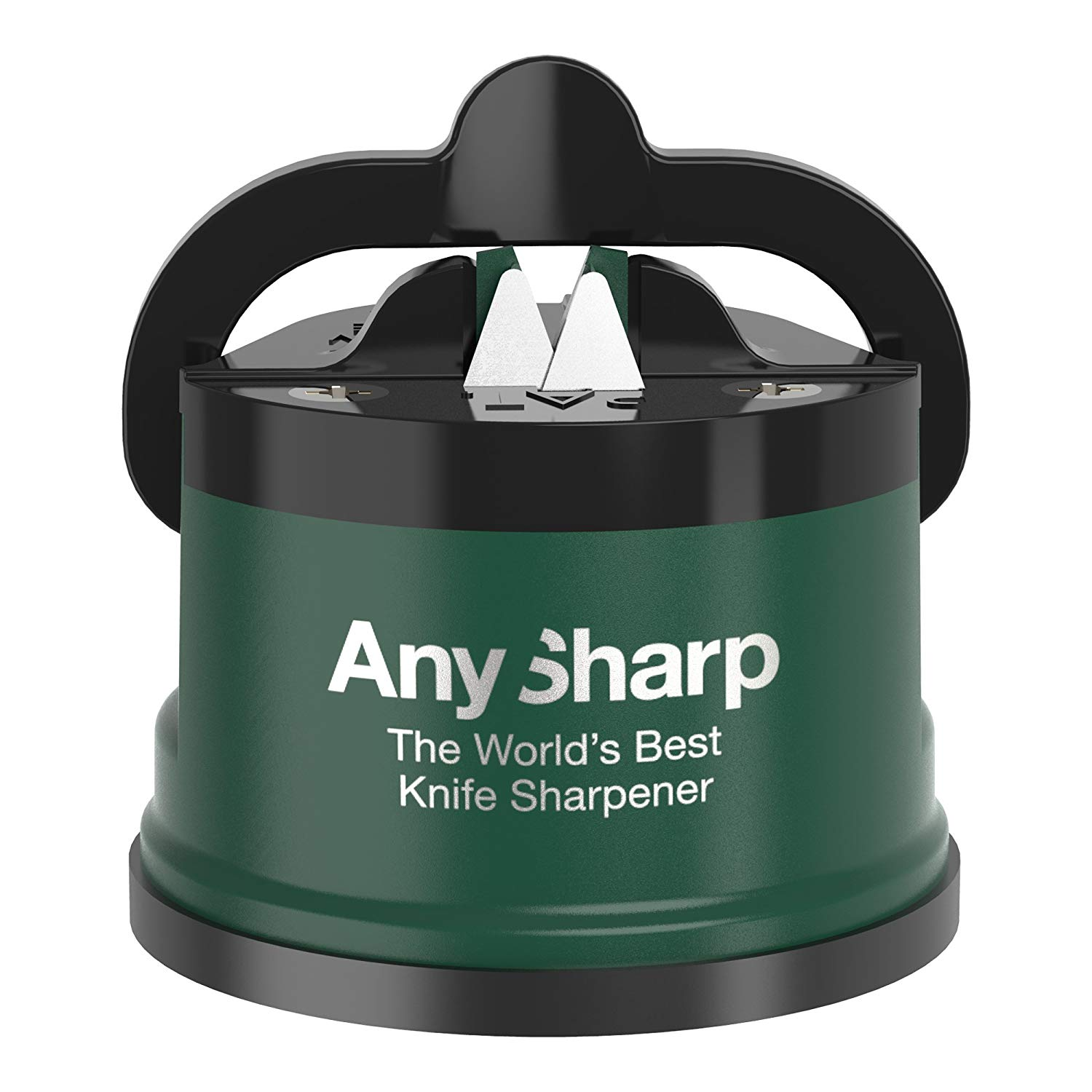New Anysharp Pro Knife One Handed Use Sharpener With Power Grip Surface