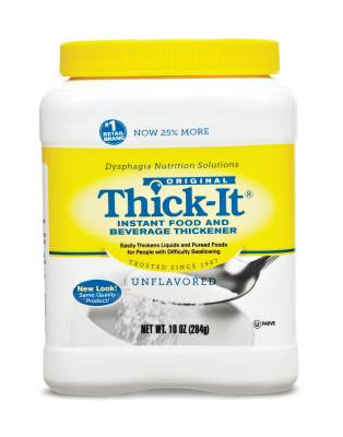 Thick-It Food and Beverage Thickener 10 oz Unflavored Ready to Use 8 Pack by KENT PRECISION FOODS